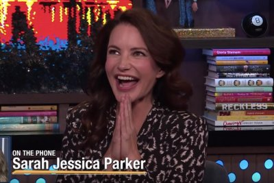 Kristin Davis pitches ideas for 'Sex and the City 3'