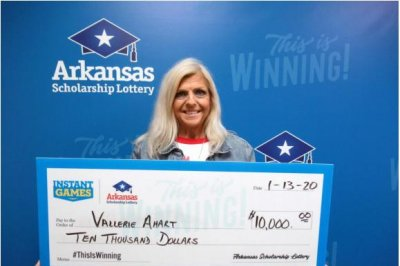 Arkansas-woman-wins-$10,000-lotto-days-before-her-56th-birthday