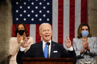 In first speech to Congress, Biden touts Families Plan, COVID-19 response