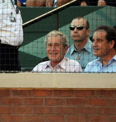 Court rejects Bush speech ejection case