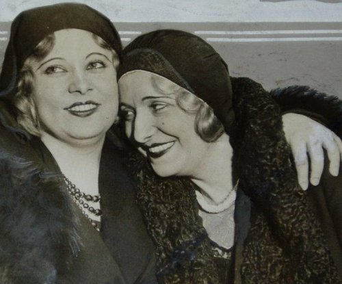 Mae West's sister and hot dog king square off in drink contest