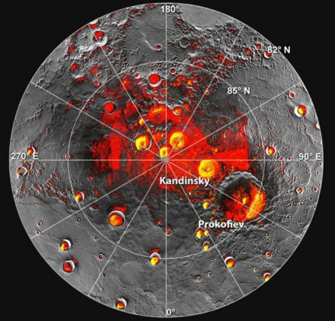 Spacecraft data suggest water on Mercury