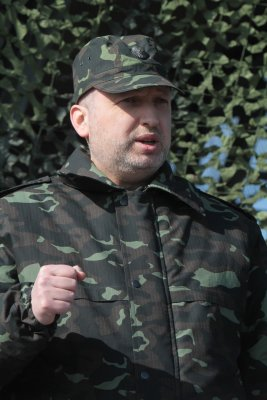 Ukraine's parliamentary speaker calls for bolstering armed forces