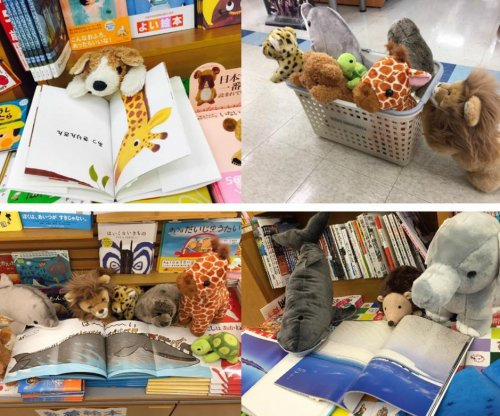 Stuffed animal sleepovers encourage children to read