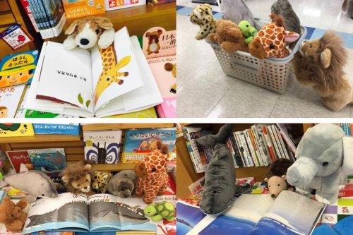 Stuffed animal sleepovers encourage children to read