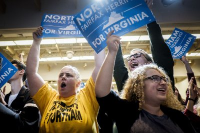 Democrats post big wins in first nationwide elections under Trump