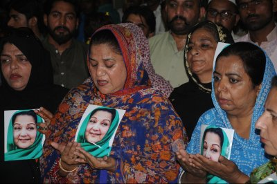 Begum Kulsoom Nawaz, wife of former Pakistani PM, dies in London