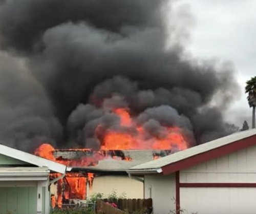 5 dead after shootings, fire at central California home park