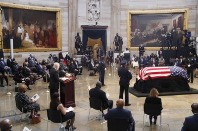Colleagues, friends pay tribute to Rep. John Lewis at Capitol
