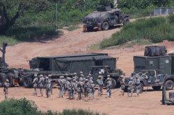 Report: U.S., South Korea begin crisis management training