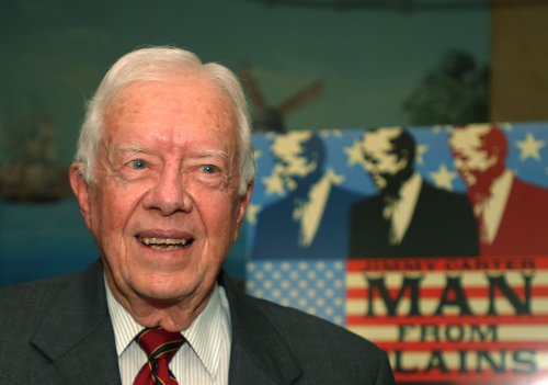 Carter has reduced security in Israel
