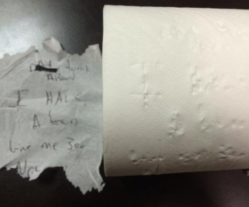 Police: Toilet paper unravels suspect's story