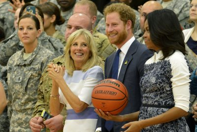 Prince Harry, Michelle Obama honor wounded veterans