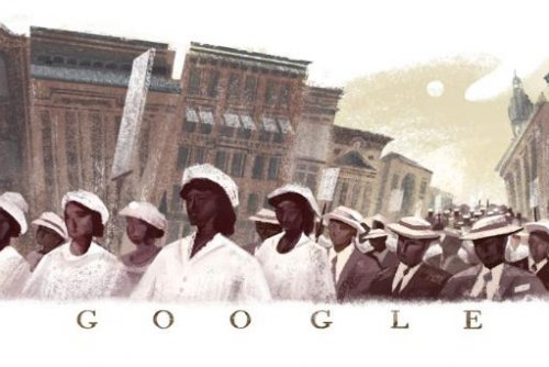 Google marks the 100th anniversary of the Silent Parade with new Doodle