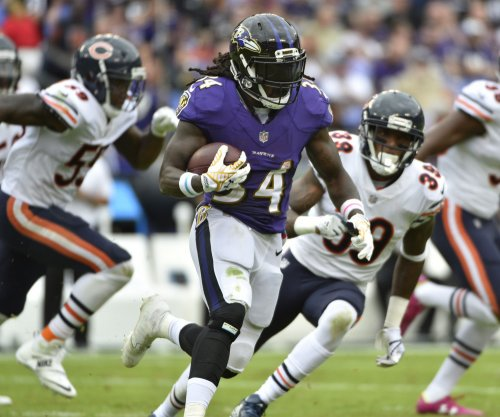 Joe Flacco, Alex Collins account for four touchdowns as Baltimore Ravens rout Detroit Lions
