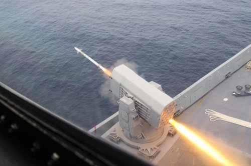 Raytheon delivers first RAM launcher ever to Latin America