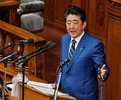 Japan's Shinzo Abe calls for strong connections with South Korea
