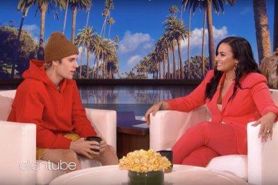 Demi Lovato tells Justin Bieber he inspired her during struggles