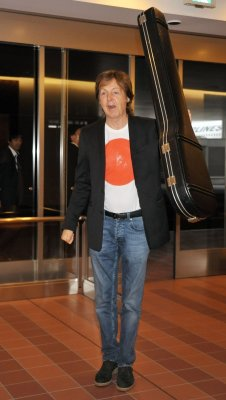 Paul McCartney hospitalized in Tokyo