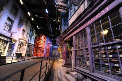 Harry Potter theme park's Diagon Alley opens for media preview