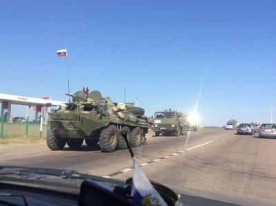 Russian military convoy crosses into eastern Ukraine