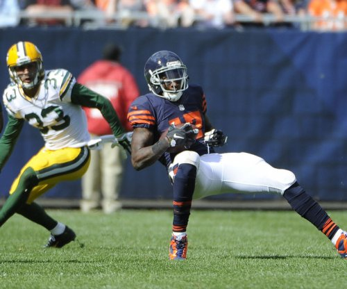 Bears WR Alshon Jeffery suffers groin injury