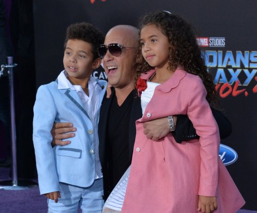 Vin Diesel, Sylvester Stallone bring kids to 'Guardians of the Galaxy Vol. 2' premiere