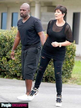 Kris Jenner spotted with new beau Corey Gamble