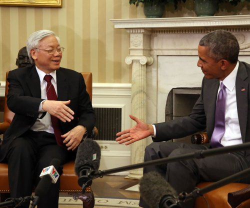 President Obama, Vietnamese general secretary pledge deeper U.S.-Vietnam partnership