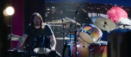 Dave Grohl faces off against 'Animal' in epic Muppets drum battle