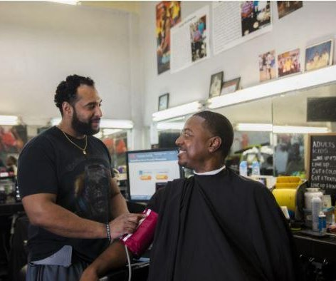 Barbers help trim blood pressure of black men in study