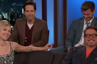 'Avengers' cast share favorite Marvel movie lines on 'Kimmel'