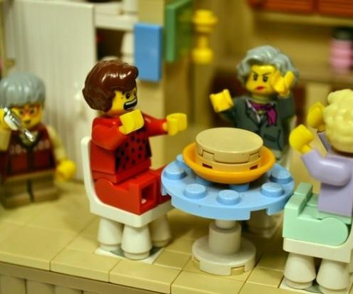 'The Golden Girls' LEGO set needs votes to become a reality