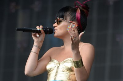 Lily Allen suffers 'minor burns' during a camping-trip gas explosion