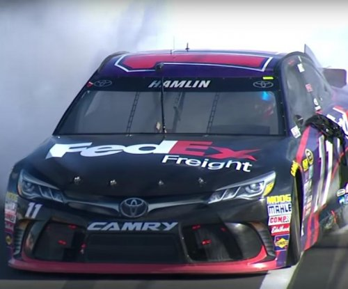 Denny Hamlin holds on to win at Watkins Glen