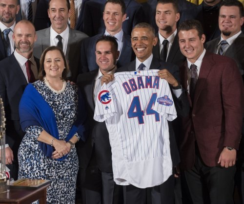 Chicago Cubs feted at White House for World Series title