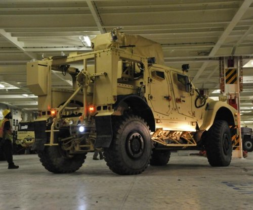 Oshkosh receives contract for motor vehicle parts for Marine Corps