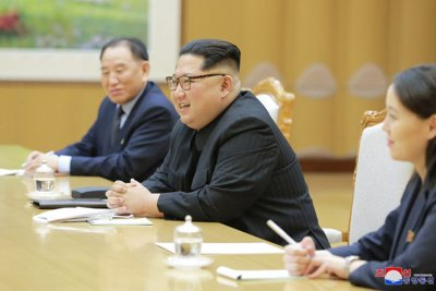 Report: Kim may speak English in summit with Trump
