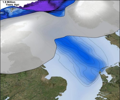 Britain was buried beneath ice sheets 2.5 million years ago