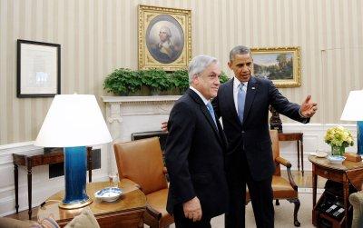Obama, Chile's Pinera discuss Visa Waiver Program