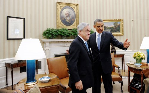 Obama, Chile's Pinera discuss Visa Waiver Program