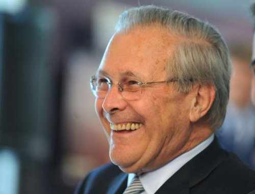 Rumsfeld honored, Emanuel snubbed