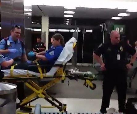 Man shot and killed after attacking TSA agents with machete, bug spray