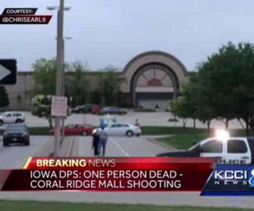 Gunman opens fire in Iowa mall, one dead