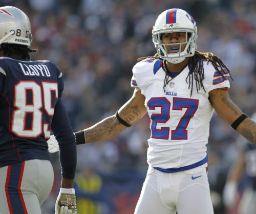 Stephon Gilmore at Buffalo Bills minicamp, but wants new contract