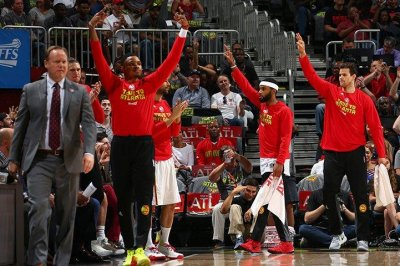 Atlanta Hawks cash in on Jose Calderon with series-tying win