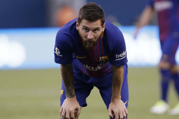 ba017b060fb July 29 (UPI) -- Soccer fans might have been disappointed to see a field  without Cristiano Ronaldo, but Lionel Messi made them forget with an early  score at ...
