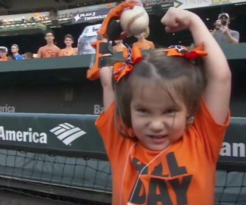 Girl with 3D printed hand wants to throw first pitch at every MLB park