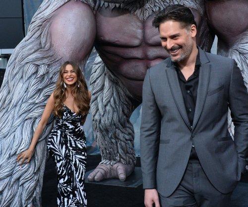 Sofia Vergara supports Joe Manganiello at 'Rampage' premiere