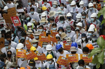 Protesters rally despite Myanmar junta's 'ominous' warning